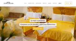 Preview of hotelpuertadelsol.com.mx