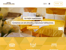 Tablet Preview of hotelpuertadelsol.com.mx